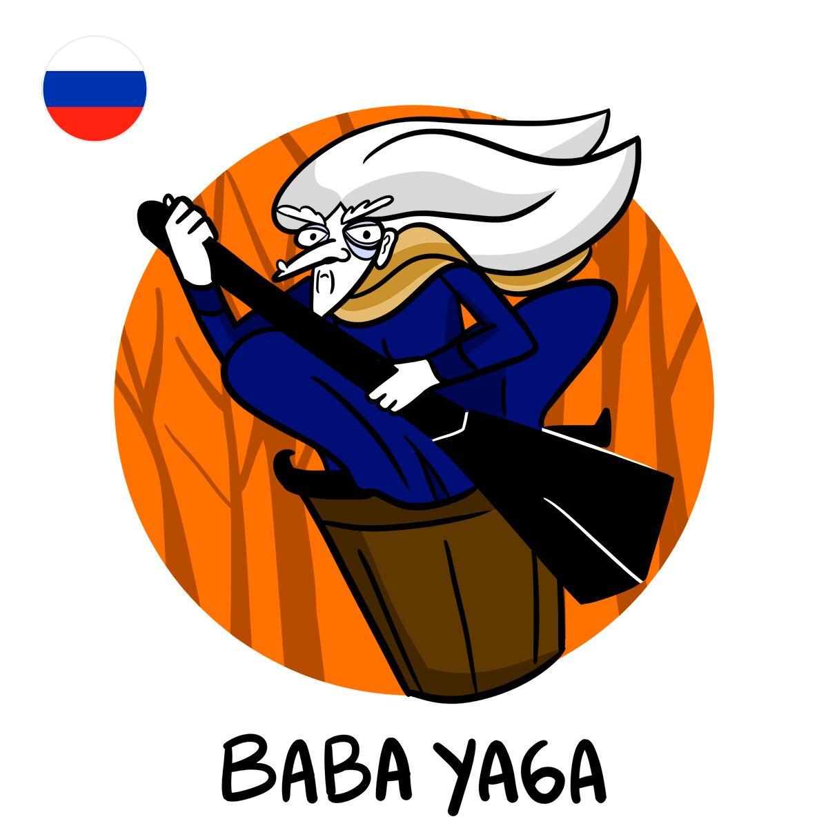 bicho-papão russia