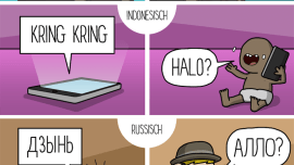 Wie man in verschiedenen Sprachen ans Telefon geht
