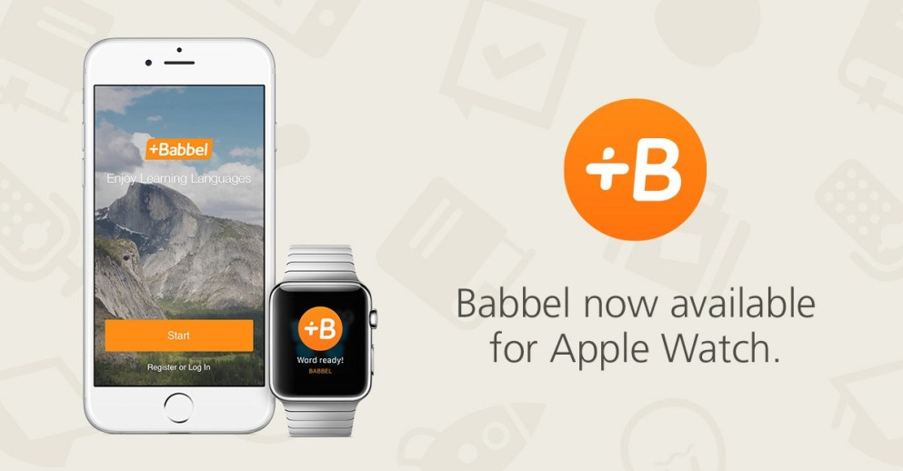 Babbel launches on Apple Watch