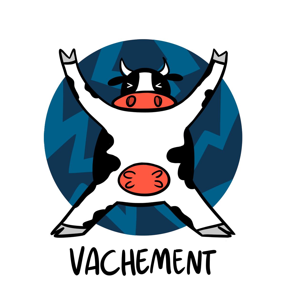 Vachement en francés