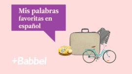 Las palabras españolas favoritas de un guiri en España
