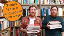 7 Tricks To Start Speaking Any Language In 7 Days (From The Superpolyglot Twins Who Did It)