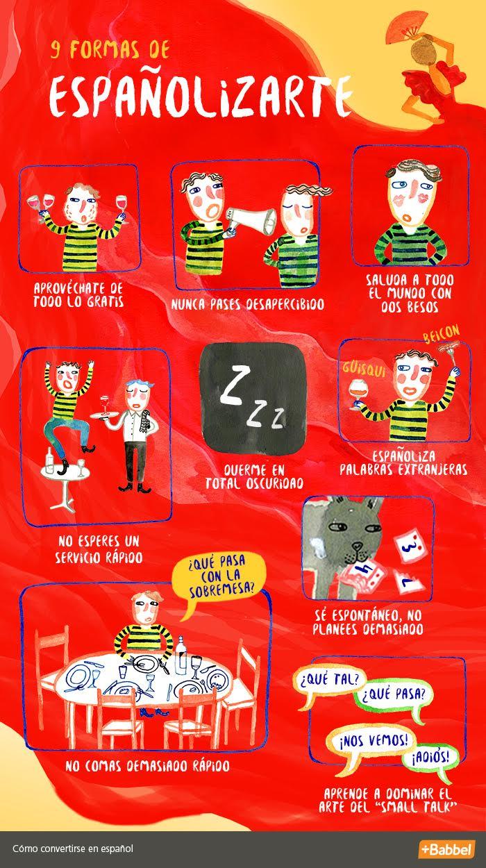 Cómo ser español en 9 pasos