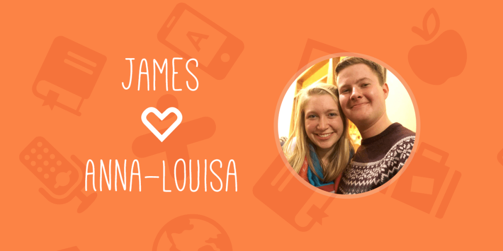 Portrait: James & Anna-Louisa – an Anglo-Swedish love story