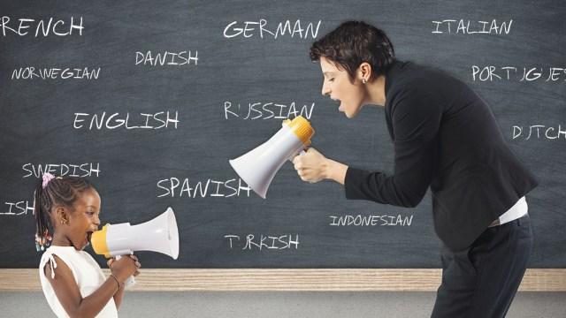 Learn language like a child?