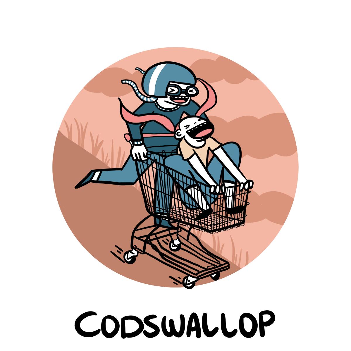 slang inglese codswallop