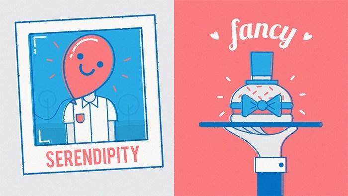palavras ingles serendipity