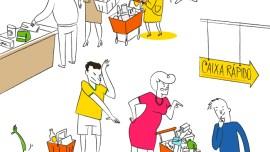 Guide des choses à ne pas faire au supermarché