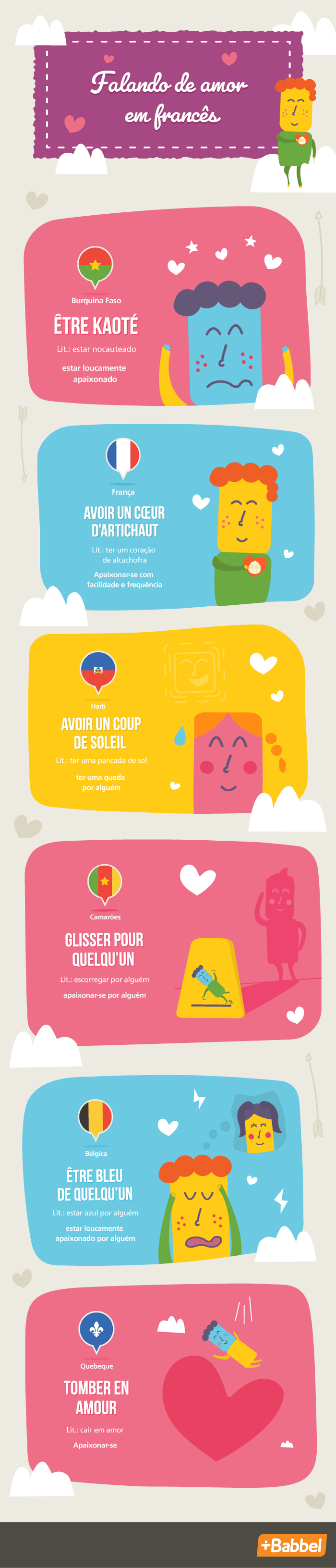 Palavras de amor em francês