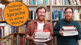 7 Tipps, um jede Sprache in deiner Stadt zu lernen – von den Zwillingen, die in einer Woche Türkisch gelernt haben!