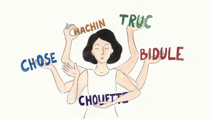 « Machin bidule, truc, chose » : ces mots français vraiment indispensables en français