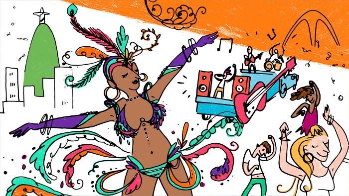Como Celebrar o Carnaval – em 6 idiomas!