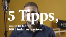 Mit 5 Tipps hat Stephan 100 Länder bereist und 10 Sprachen gelernt