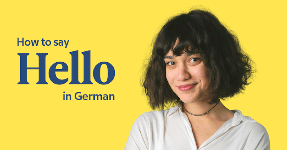 Hallo and 17 other ways to say hello in german m4hsunfo