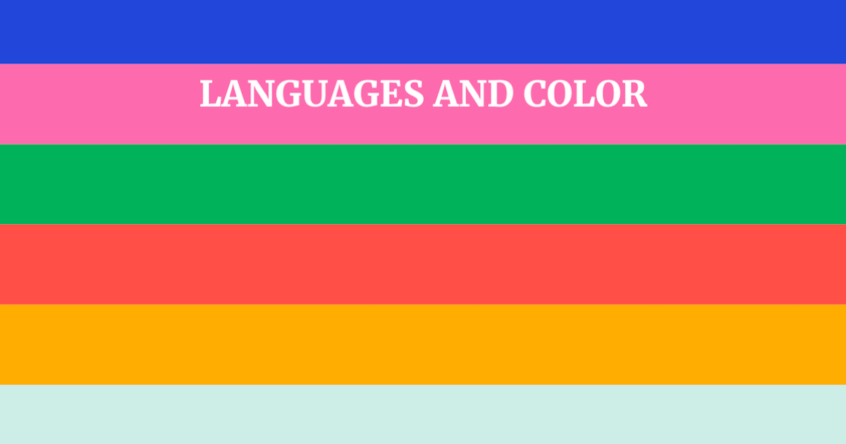 Green Farben sprache und farben wie unser vokabular unser farbsehen beeinflusst