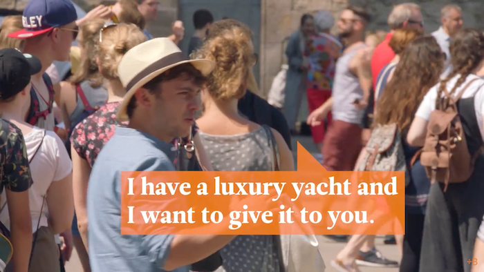 Find Out Why These Tourists Said No To A Free Yacht And More