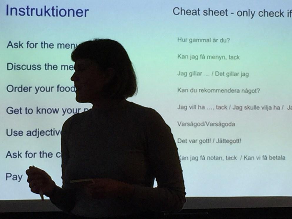 Ensinando sueco na Babbel, com a Babbel