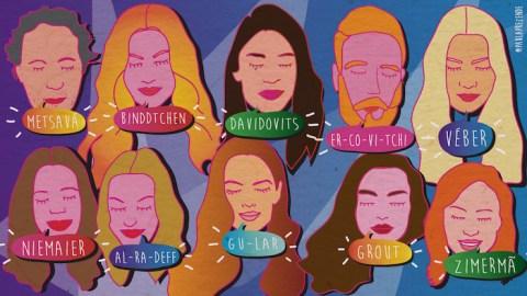 Como falar os 10 nomes de famosos brasileiros mais difíceis da moda?