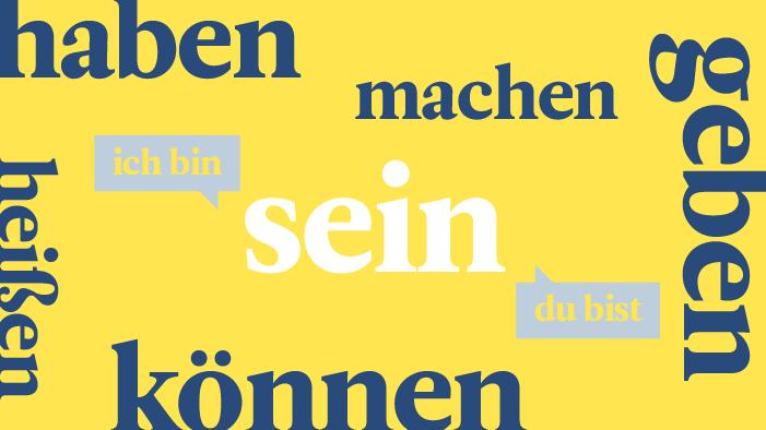 Los 20 verbos en alemán más comunes