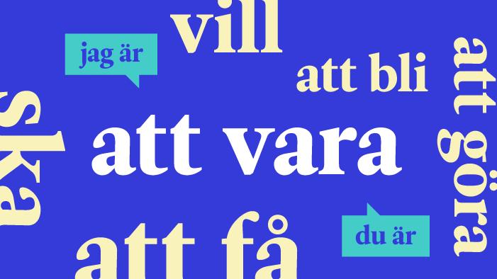 Conjugaison suédoise – les 20 verbes les plus courants