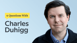 6 Questions With Pulitzer Prize-Winning Reporter Charles Duhigg