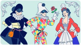 Inspiración de carnaval: las máscaras italianas tradicionales