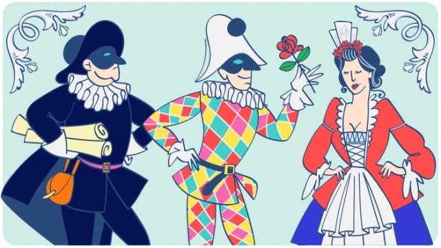Die schönsten italienischen Karnevalsmasken