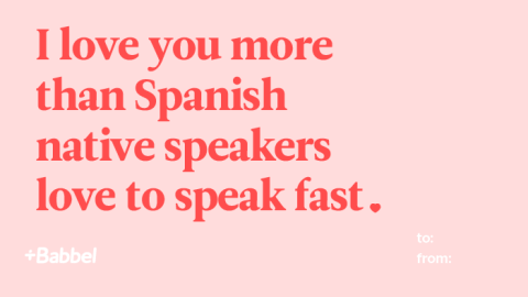 Valentine's Day Cards For Your Language-Loving Nerd