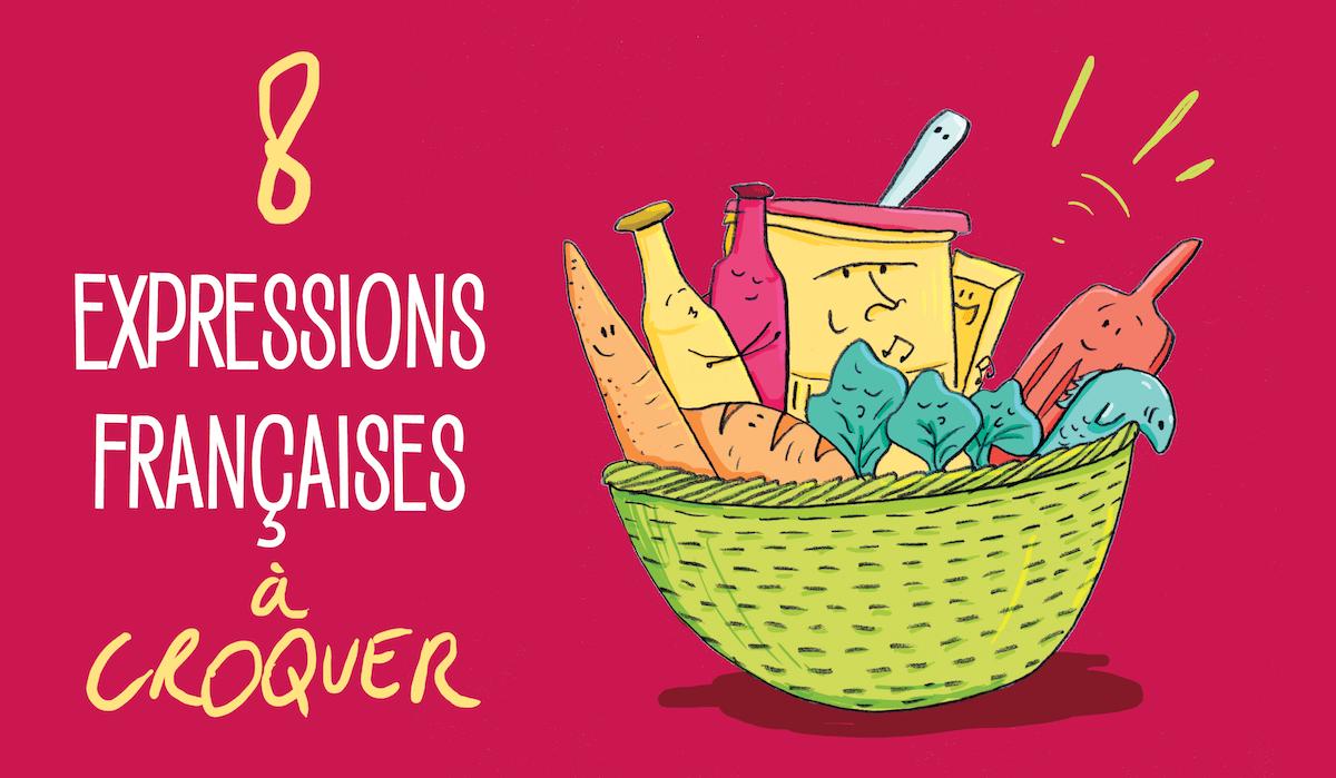 8 expressions gourmandes illustrées, pour le plaisir des yeux !