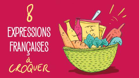 8 expressions culinaires illustrées, pour le plaisir des yeux !
