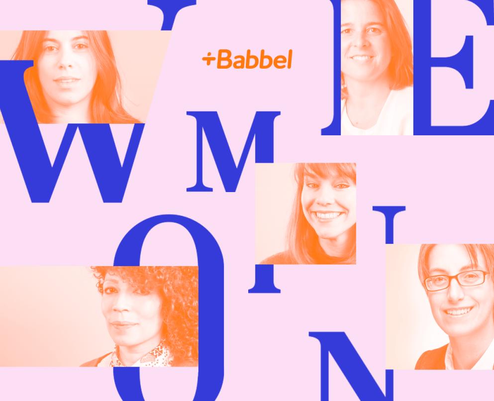 Profissionais mulheres da Babbel discutem questões de gênero
