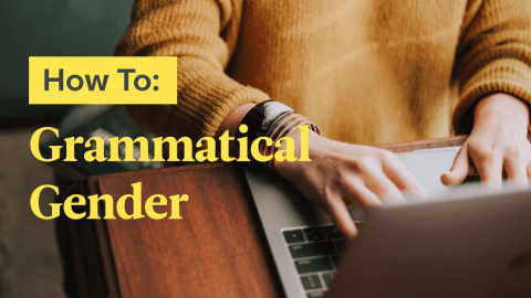 How To Figure Out Grammatical Gender In A New Language