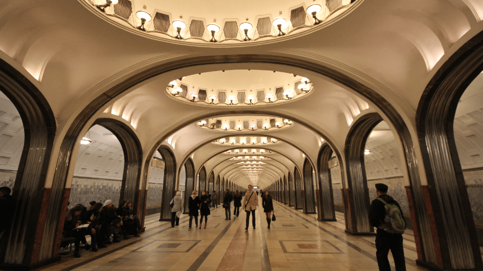 Subway systems around the world Moscow
