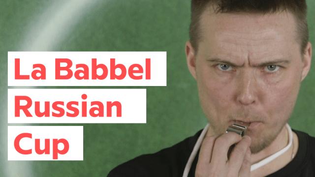 Babbel vi fa parlare le basi del russo in tempo per l'estate calcistica