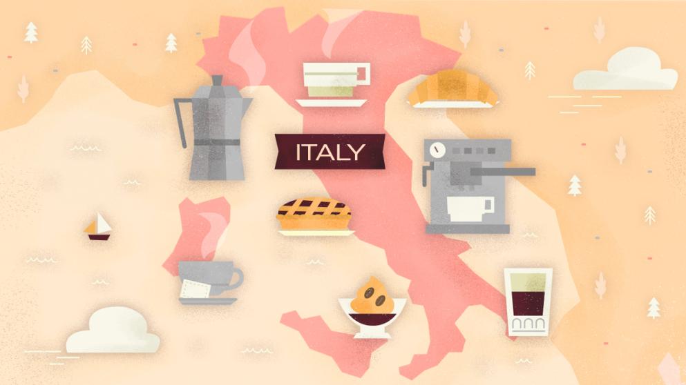 El arte del café italiano