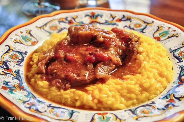 Italian dinner party Ossobuco