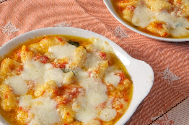 Italian dinner party gnocchi