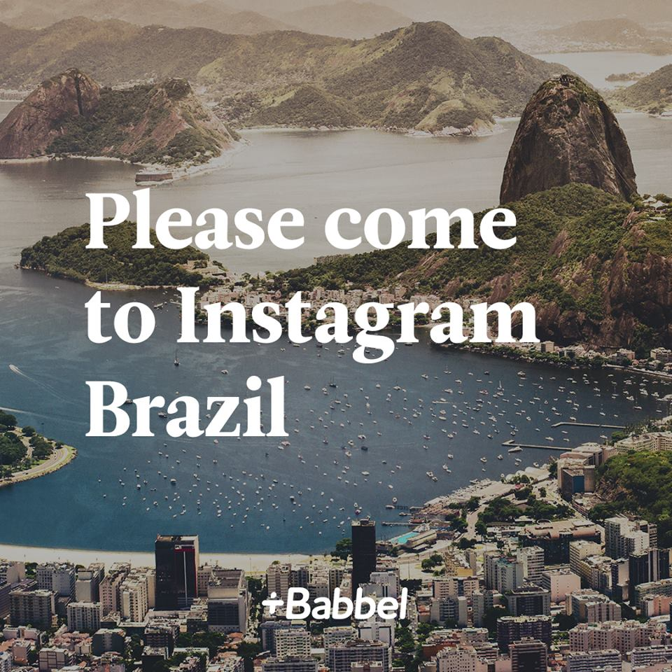 Yes, nós temos Instagram Brasil!