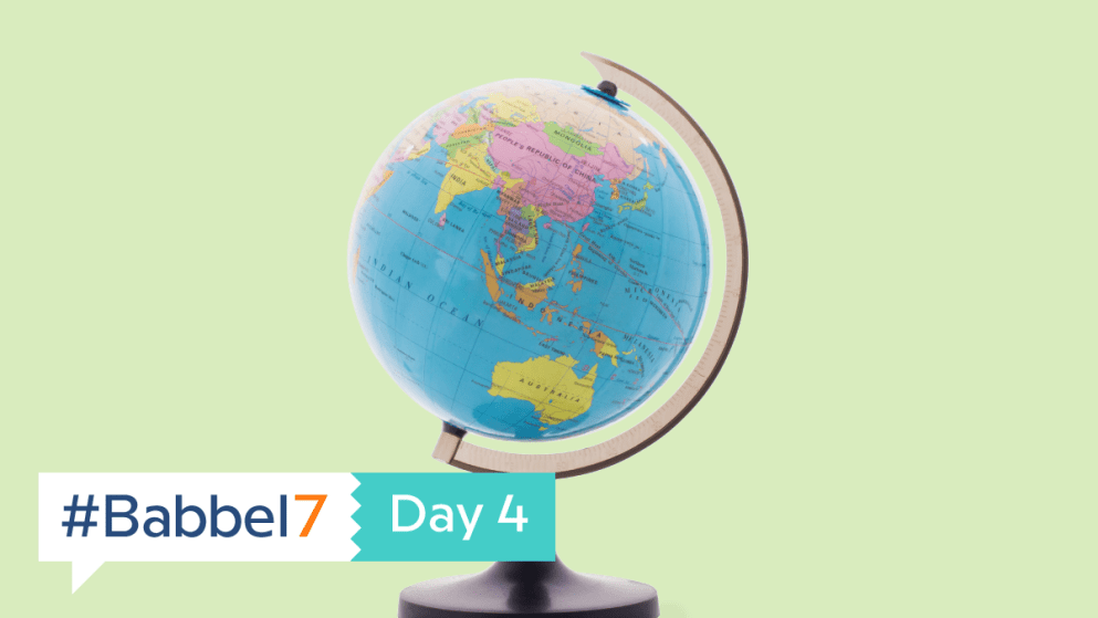 Babbel7 Day 4: Pencils Down, Quiz Time