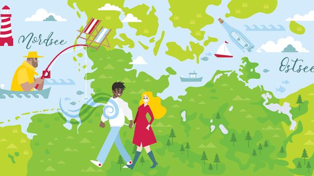 Ostsee, Nordsee und dazwischen – wat schnackt man im Norden?