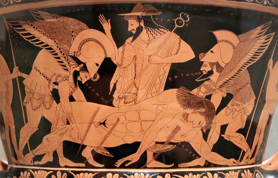 Cultures Imagine Death — Thanatos