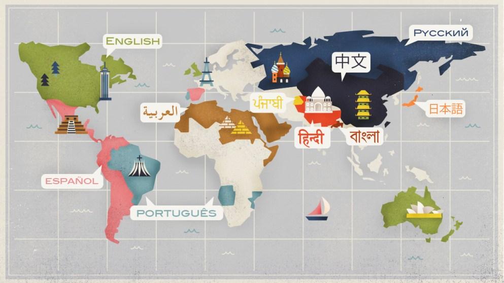 cual es el idioma mas hablado del mundo