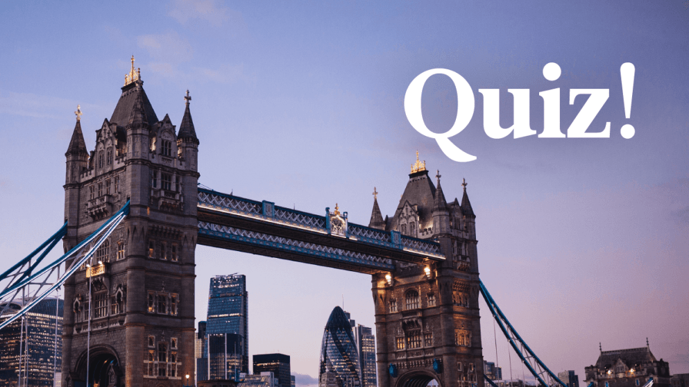 Quiz: How Much Do You Know About English?