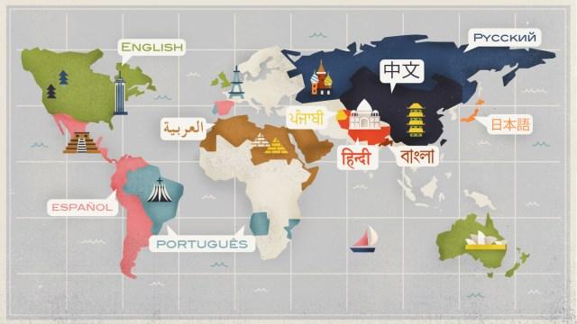 Quali sono le lingue più parlate al mondo?