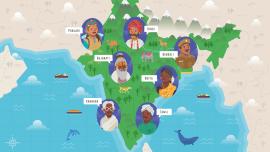 """""""El idioma de la India"""": la intersección lingüística de miles de lenguas y dialectos"""