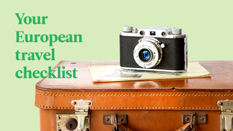 The Ultimate Travel Checklist For Going To Europe