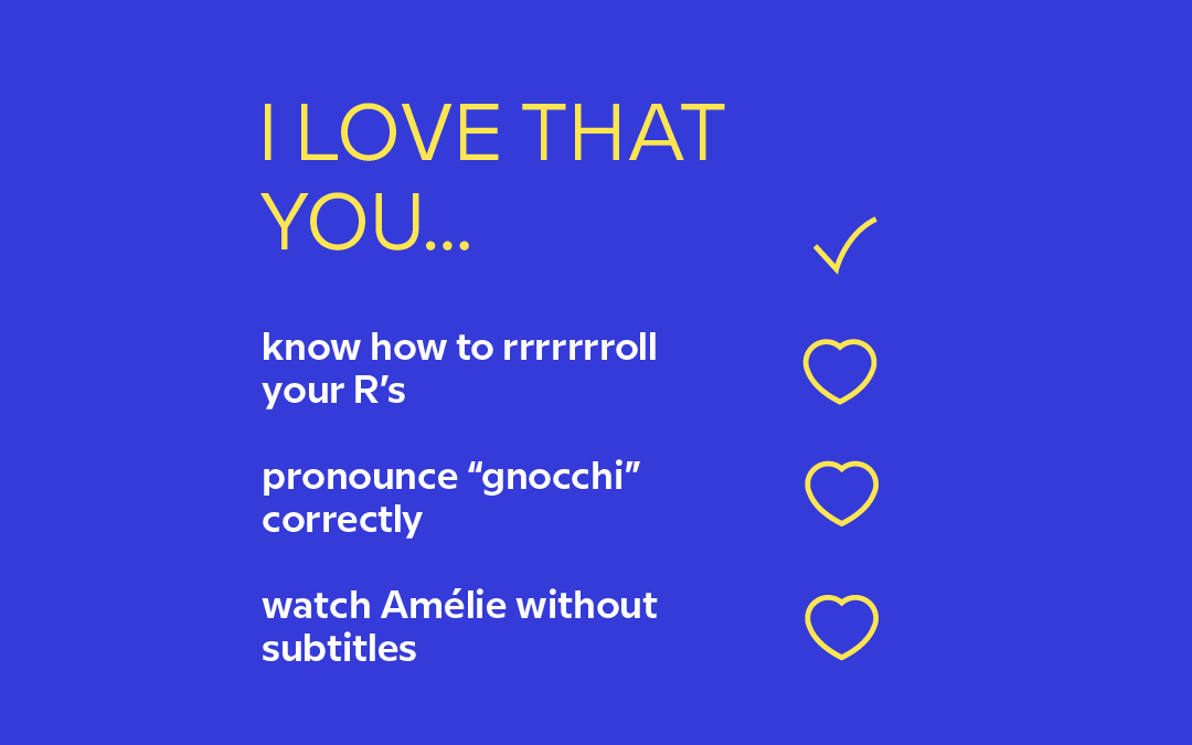Your 2019 Language-Themed Valentine's Day Cards