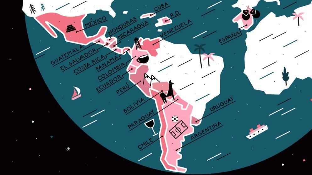 As 10 línguas mais faladas na América do Sul