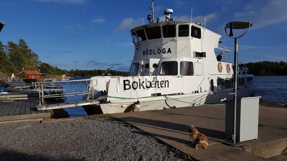 Sweden Book Boat
