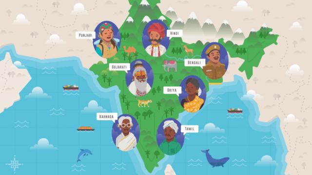 Od hindi po urdu: języki w Indiach